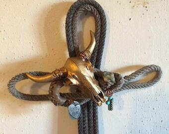Handmade Lariat rope cross