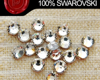 Swarovski Elements (Hot Fix) Crystal Clear (001)  144pieces FREE SHIPPING