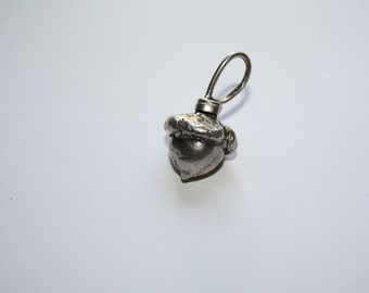 Sterling Silver Acorn drop for necklace / jewelry
