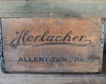 Horlacher beer crate