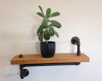 The Oppenheimer - Industrial Pipe Shelf