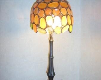 Handmade Tiffany table lamp