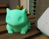 Cute Garden Mini Bulbasaur Pokemon Planter Indoor and Outdoor Succulents *Many Colors!