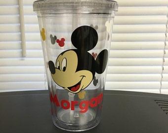 Custom Mickey Mouse Tumbler