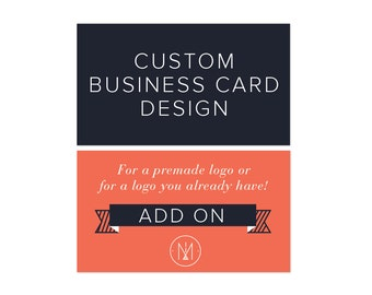 Add On Business Card Design Customized Business Card Small Business Business Card Design Affordable Business Card Professionally Designed