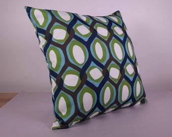 Outdoor Cushion Cover - Green, Teal, Blue, Brown (48cm x 48cm)