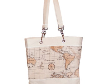 Bag - World Map