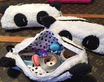 Panda Pencil Accessories Case