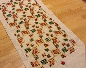 "Christmas table runner 42""x14"""
