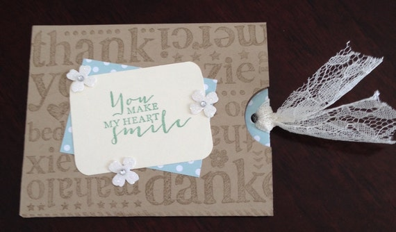 Handmade Thank You Wedding Gifts : Thank you cards, wedding thank you cards, handmade, greeting cards