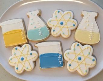 Chemisty Themed Cookies (1 dozen)