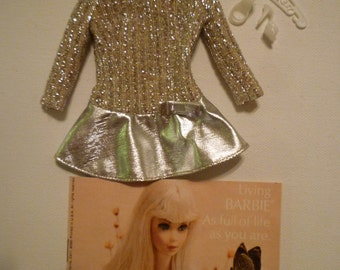 vintage-barbie-60s-clothing-salute-to-silver-sparkle-1885-AUTHENTIC-complete