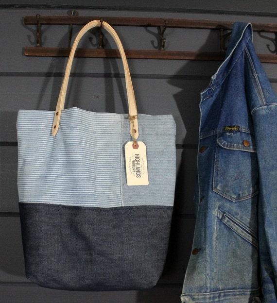Denim Workwear Tote