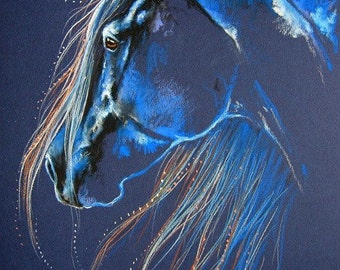 Magic of the Horse Original Art