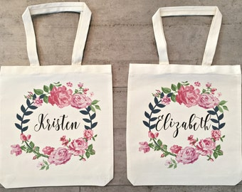 Bridesmaid Totes (set of 2)