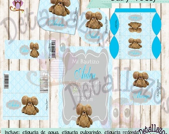 Printable Kit Baby Teddy