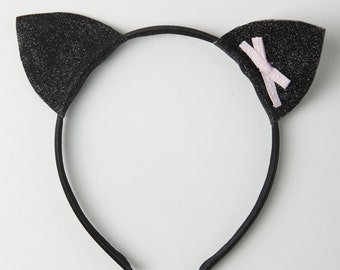 Girls cat ears headband