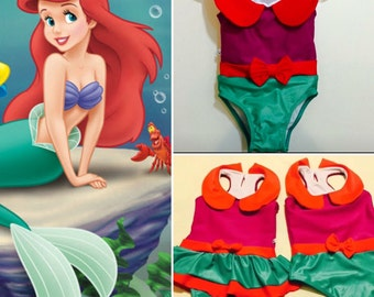 Princess Ariel swimsuit