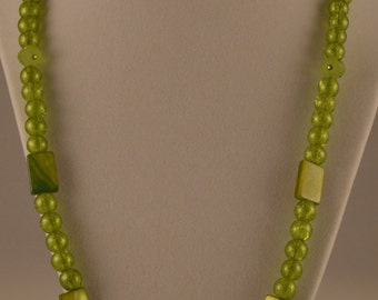 """24"""" Lime Green Necklace"""
