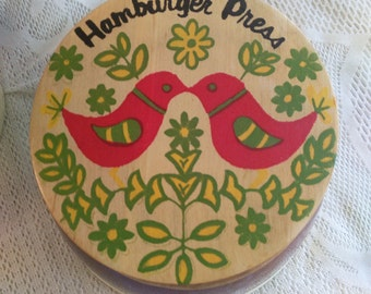 Hamburger Press  PreOwned  Excellent Condition  Great Memory Maker