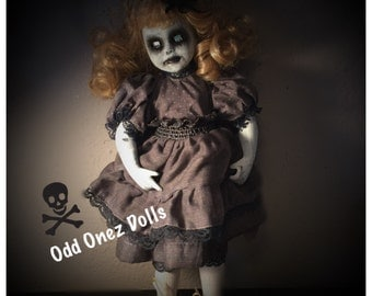 Phoebe creepy Gothic Victorian horror doll
