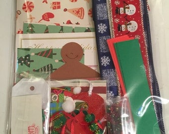 Variety Christmas Scrapbook Pack, Christmas pack,
