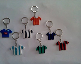 Team t-shirt keychain