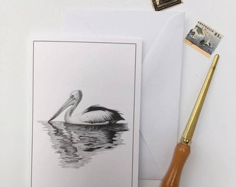 Greeting Card - Australian Pelican