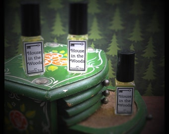House In The Woods perfume oil - 4 ml - woods, coffee, smoke
