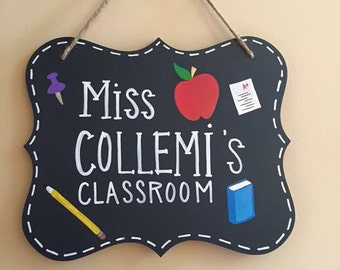 Personalized Teaching Sign