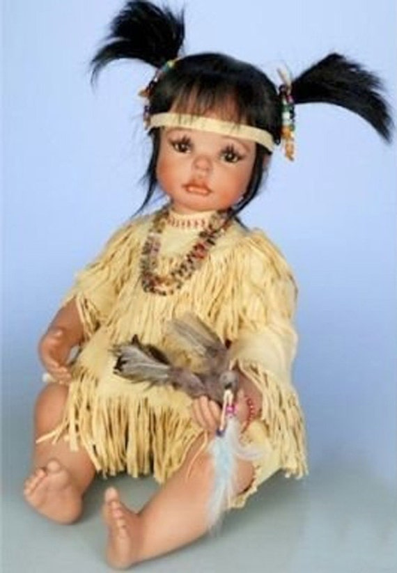Paradise Galleries Porcelain Baby Doll Joyful Dove