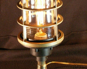 Steampunk lamp,