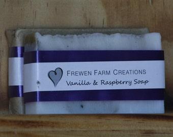 Vanilla & Black Raspberry Soap