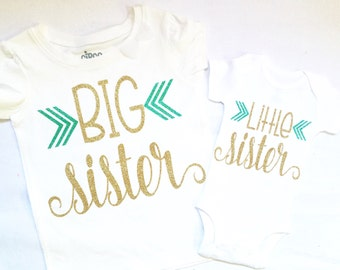 Big*middle*little* sister shirts