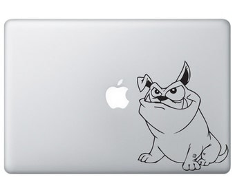 Angry Dog Vinyl Decal - Macbook Stickers - Angry DogVinyl Decal - Angry Dog Vinyl Sticker - IPad Vinyl Decal