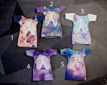 5 styles! Handmade Doll Clothes — T-shirt with a picture (print). Monster High / Ever After High