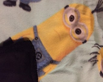 Minion Fleece blanket