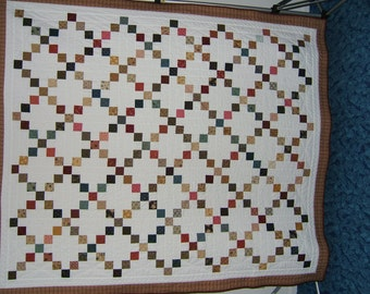 Nine Patch Variation Quilt