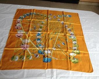 """Hermes scarf, """"Ferris wheel"""""""