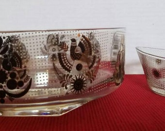 Mid Century Glass Bowls by George Briard