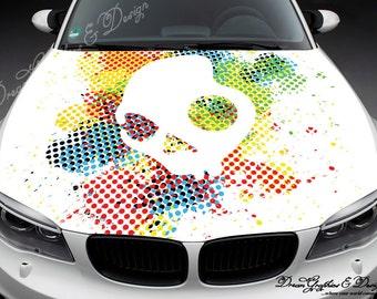 White Dragon Full Color Graphics Adhesive Vinyl Sticker Fit - Vinyl stickers designabstract full color graphics adhesive vinyl sticker fit any car
