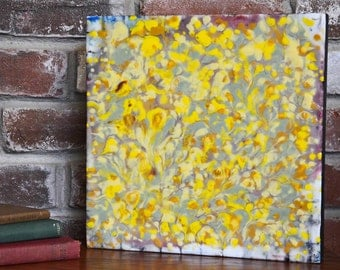 Sun Garden - Encaustic Painting - Encaustic Art