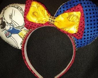Princess Snow White Disney Inspired Ears