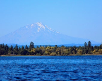 Mount Shasta (Photograph) - Mountain Photo - Fine Art Nature Landscape Photography Print - California State Park