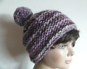 Wool with Pompom Hat