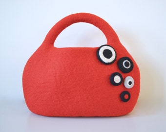 Sea anemone bag * red