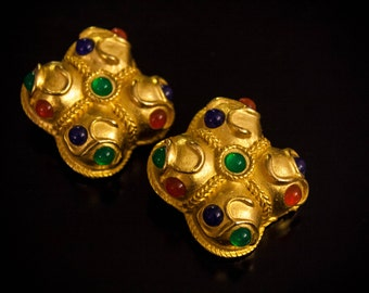 Clips earrings YSL Haute Couture (unsign piece)