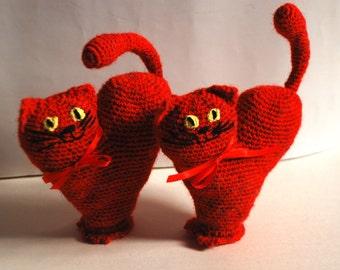 Knit Valentine Kittie