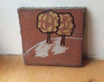 Trees Art Tile