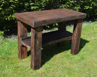 Pretty Reclaimed Butcher Block/ Kitchen Island/ Display Table - HAND MADE!